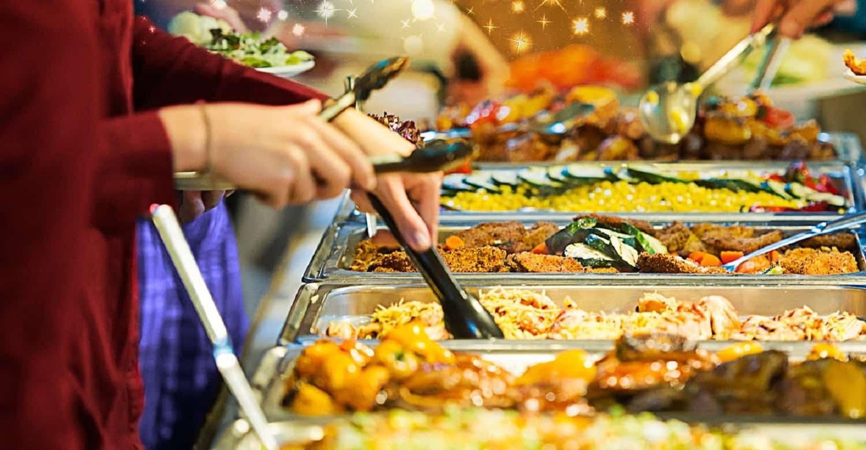 nhà hàng buffet