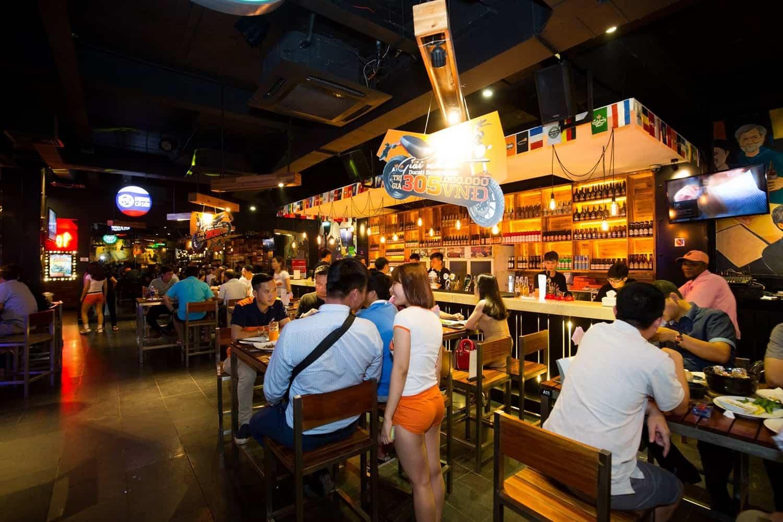 mở quán bia club
