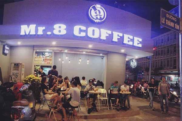 Mr.8 Coffee ứng dụng phần mềm quản lý của iPOS.vn 1