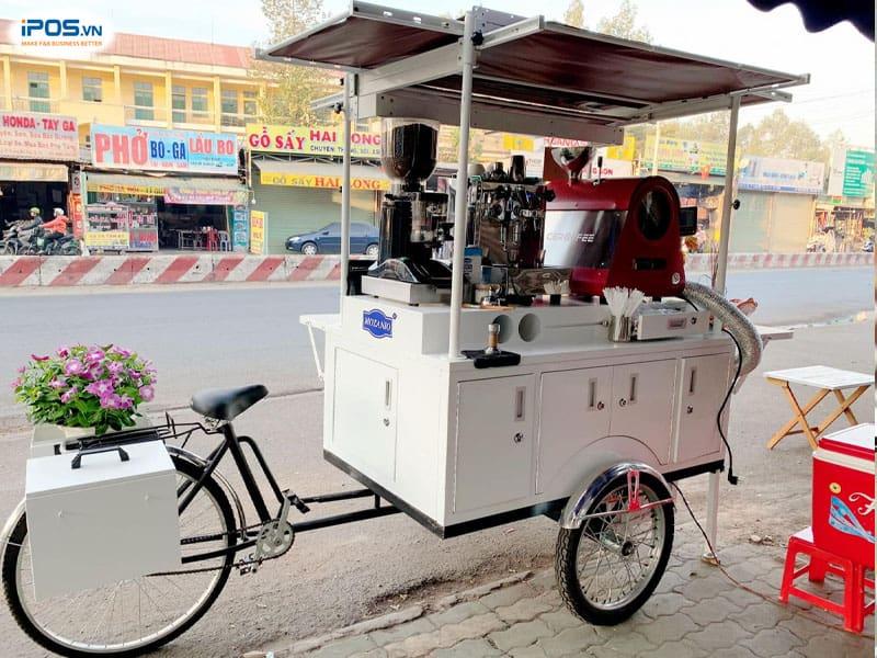 Mô hình kinh doanh cafe xe đẩy không tốn quá nhiều chi phí