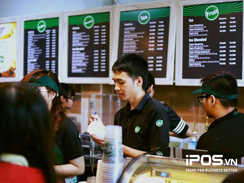 Xác định khách hàng mục tiêu cafe take away