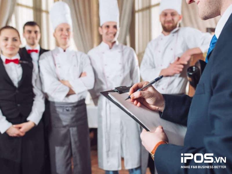 đào tạo nhân viên phục vụ nhâ hàng