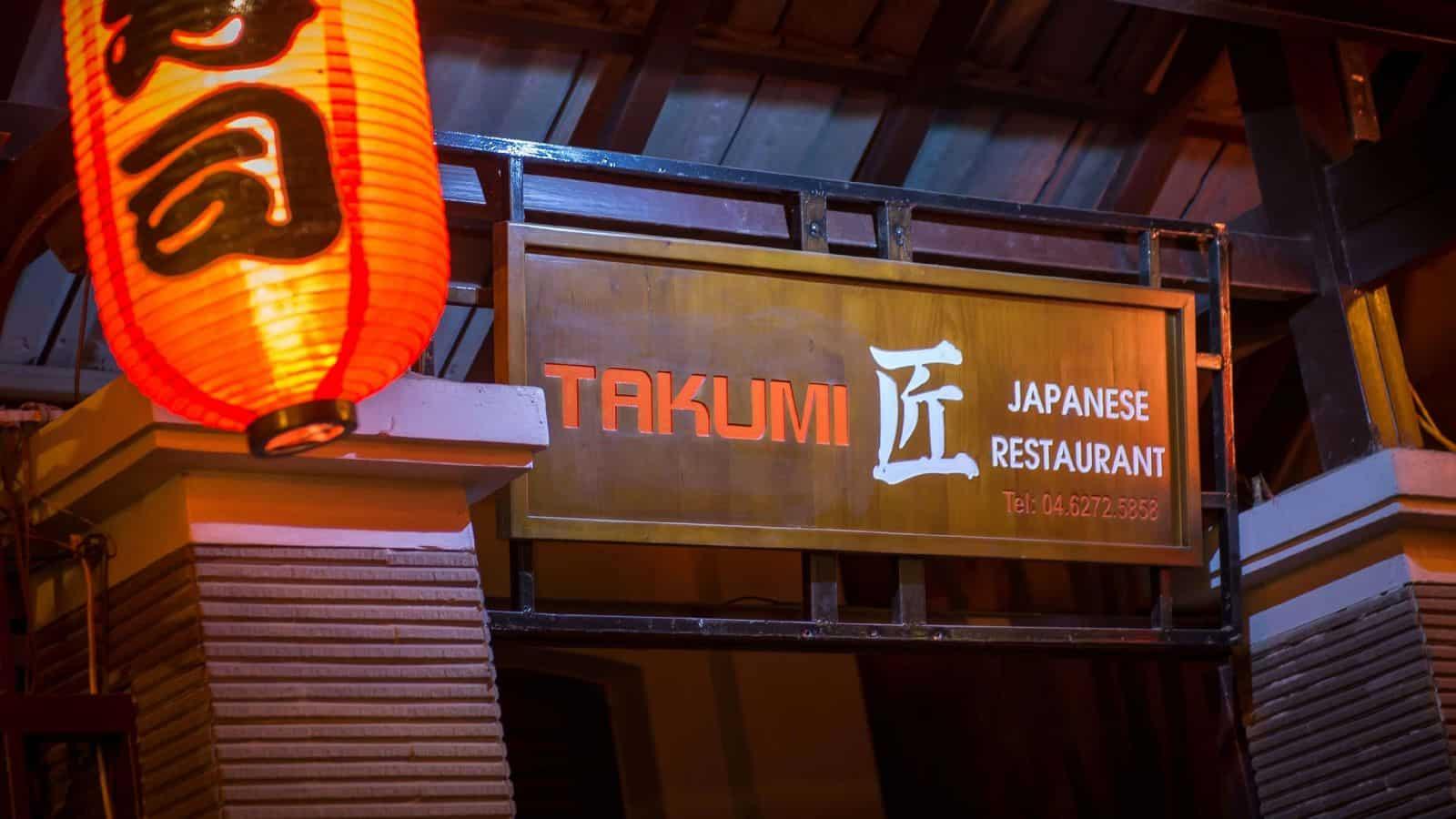 nhà hàng nhật bản takumi