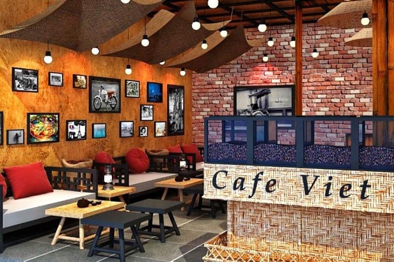 Treo tranh ảnh hợp phong thủy quán cafe