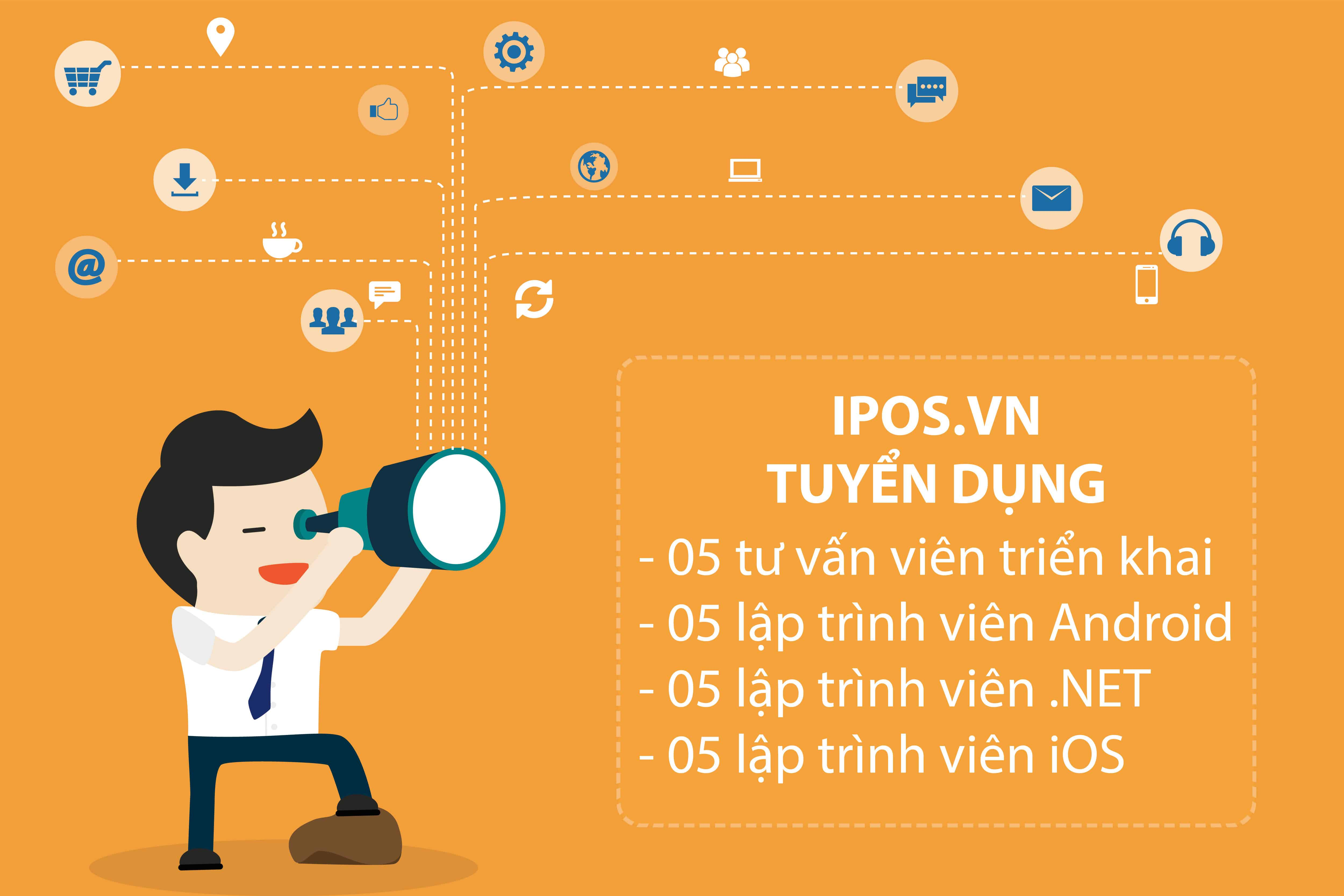 iPOS.VN tuyển dụng 1