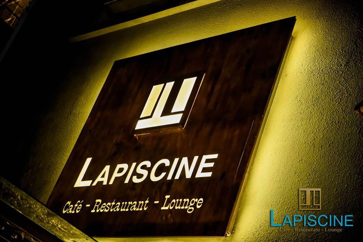 Rượu ngon, nhạc sang, không gian ấm cúng ở La Piscine Càfe - Restaurant – Lounge 1