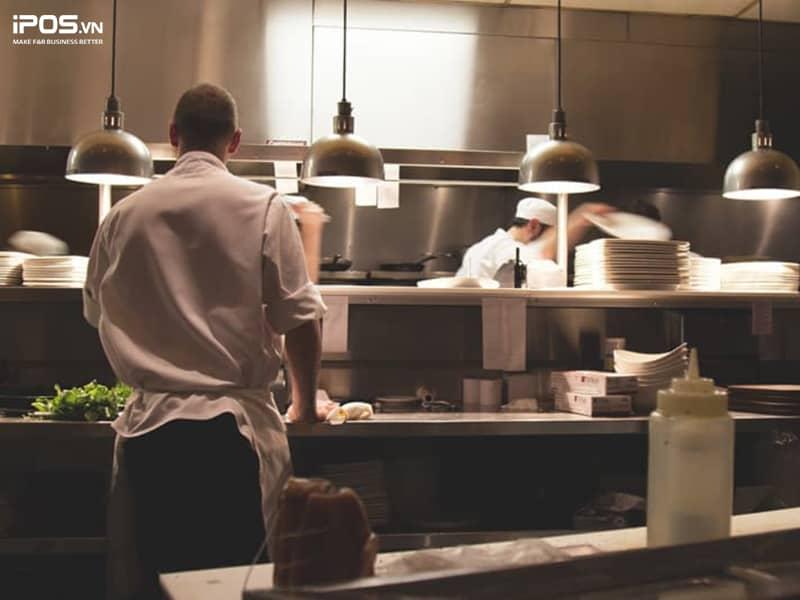 bố trí bếp hợp lý để quản lý bếp nhà hàng hiệu quả
