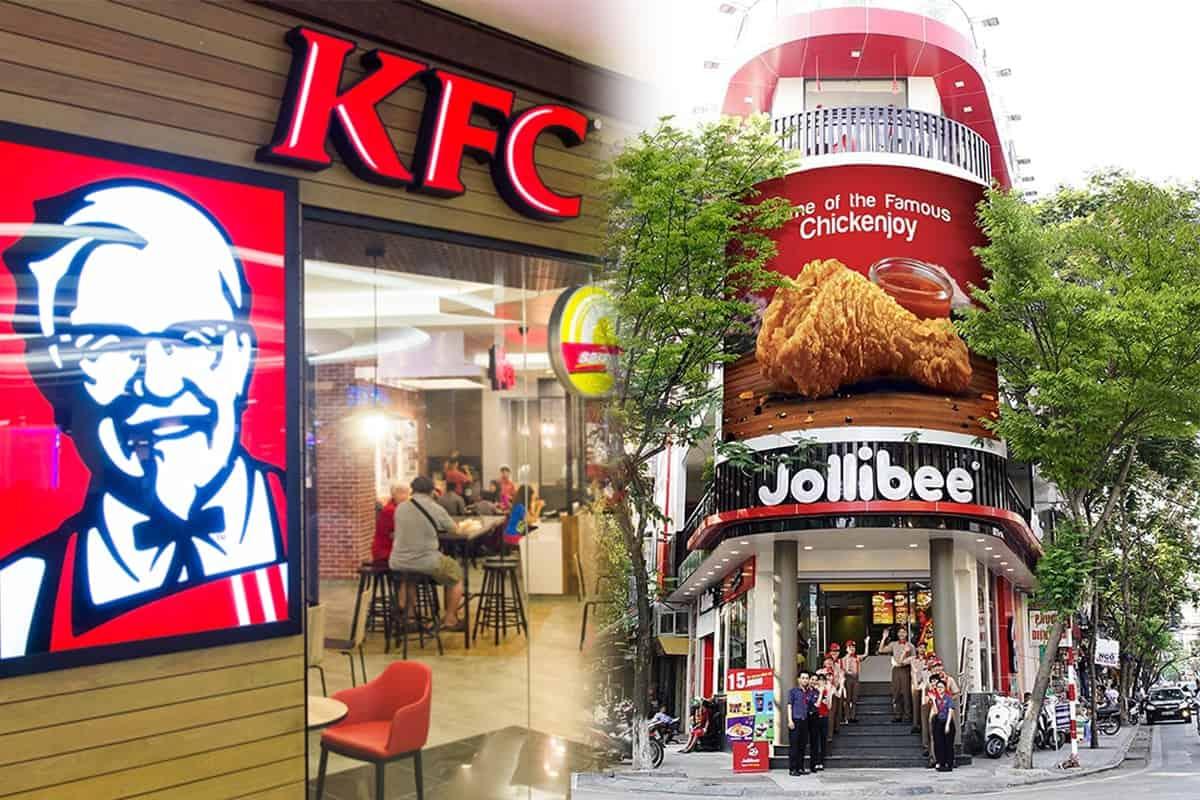 iPOS.vn hân hạnh là nhà cung cấp thiết bị uy tín cho chuỗi thương hiệu fastfood : Jollibee và KFC 1