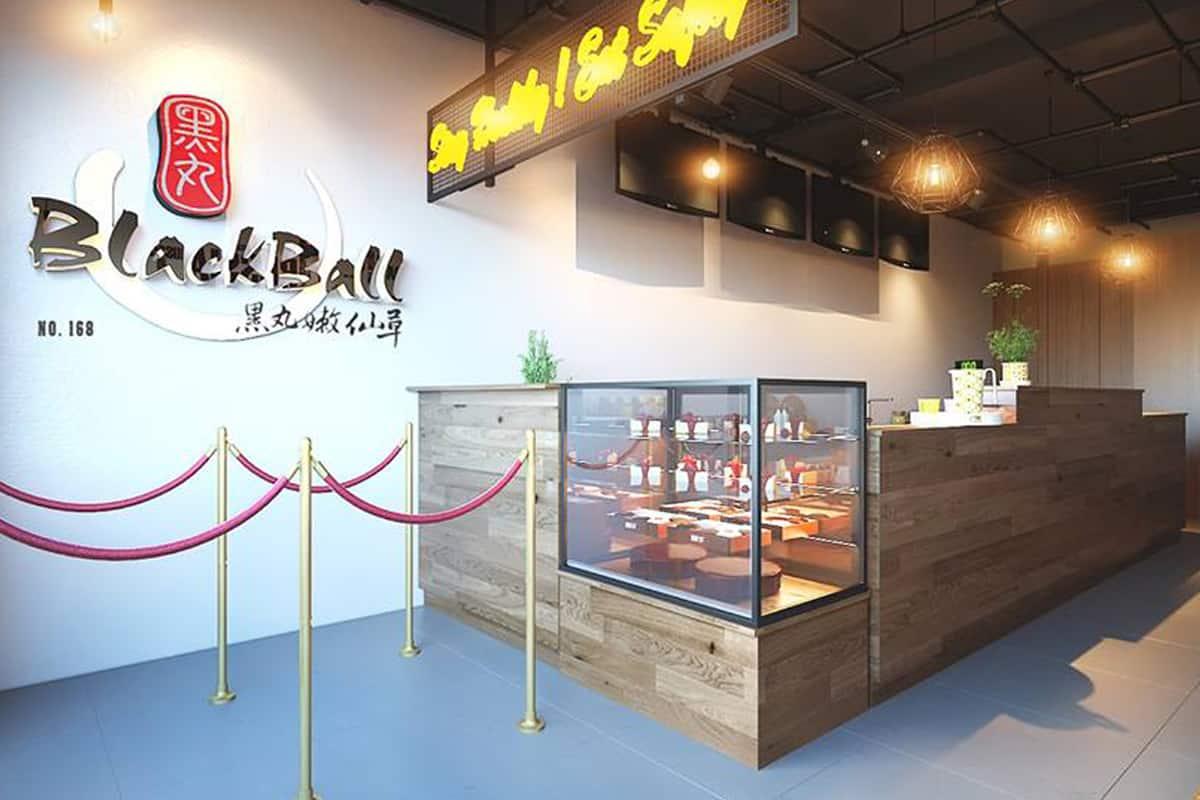 BlackBall – Thương hiệu chè và trà sữa Đài Loan ứng dụng phần mềm quản lý bán hàng iPOS 1