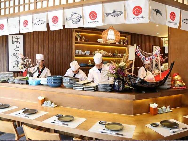 HATOYAMA - Nhà hàng Nhật Bản