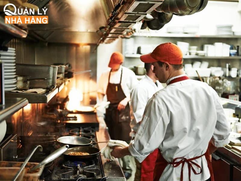 Quản lý bếp hiệu quả để tối ưu công suất nhà hàng