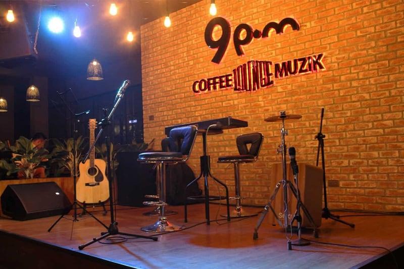 mô hình quán cafe âm nhạc