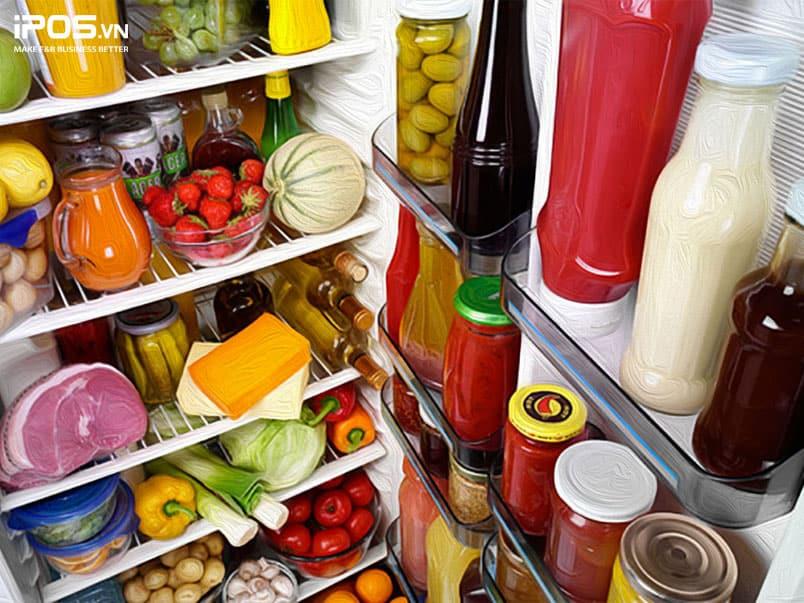 Không nên để tủ lạnh quá đầy