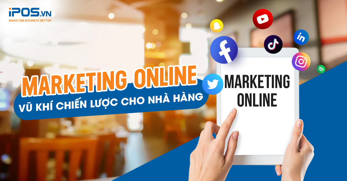Marketing online nhà hàng
