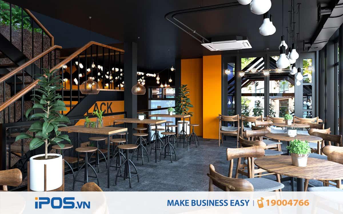 4 gợi ý về phong cách thiết kế cho quán café mới mở 1