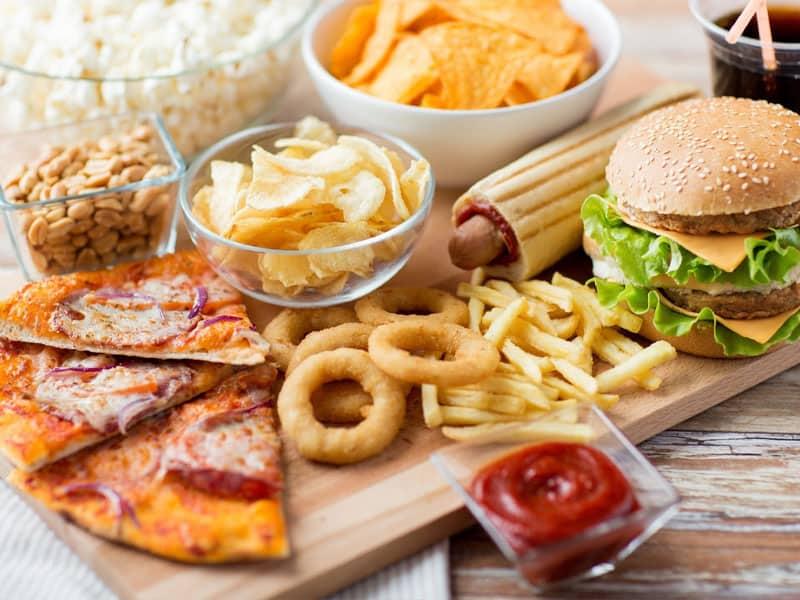 menu mô hình nhà hàng Fast Food