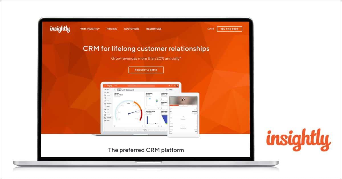 Phần mềm Insightly CRM