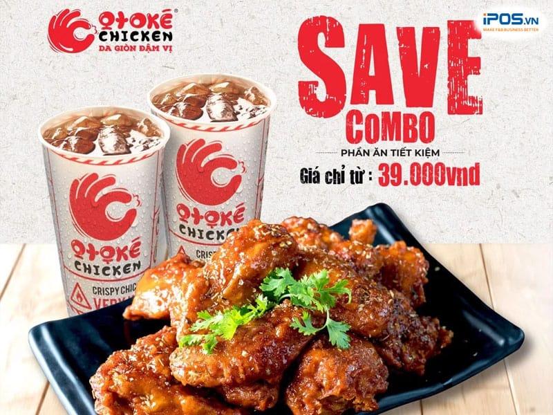 Combo siêu tiết kiệm tăng doanh thu nhà hàng