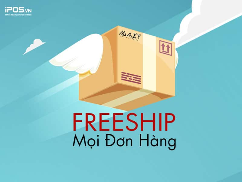Miễn phí giao hàng cho khách