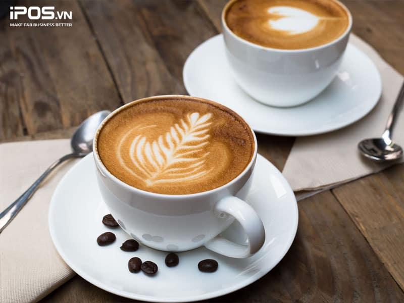 Cafe là thức uống cơ bản trong menu quán cafe