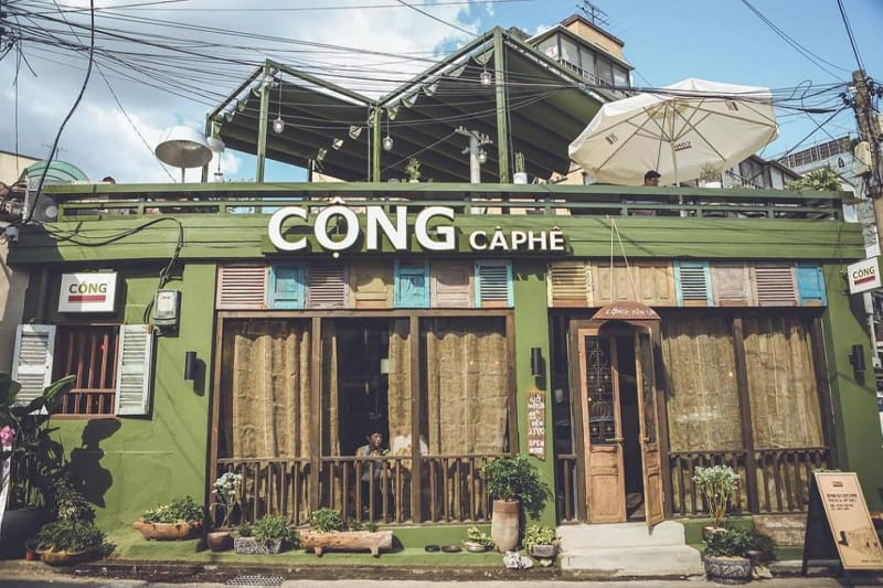 Các bước xây dựng quán cà phê vintage