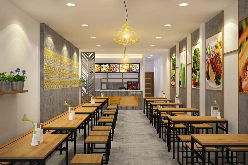 Bảng chi phí mở quán café takeaway 4