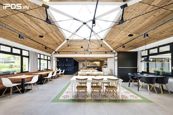 8 ý tưởng thiết kế quán trà sữa 5