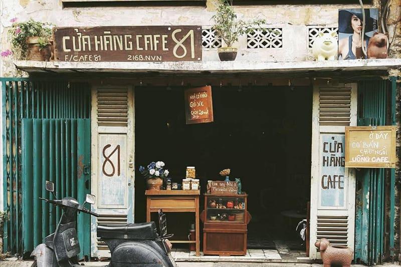 Tên quán cafe theo địa chỉ, tên đường