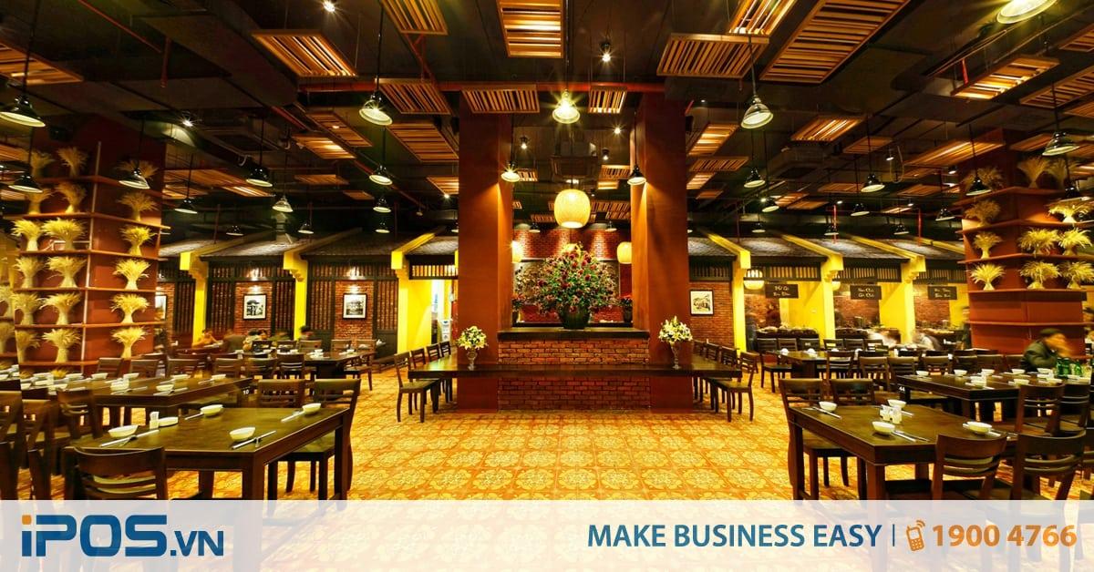 Nhà hàng và quán ăn - Những điểm khác biệt 1