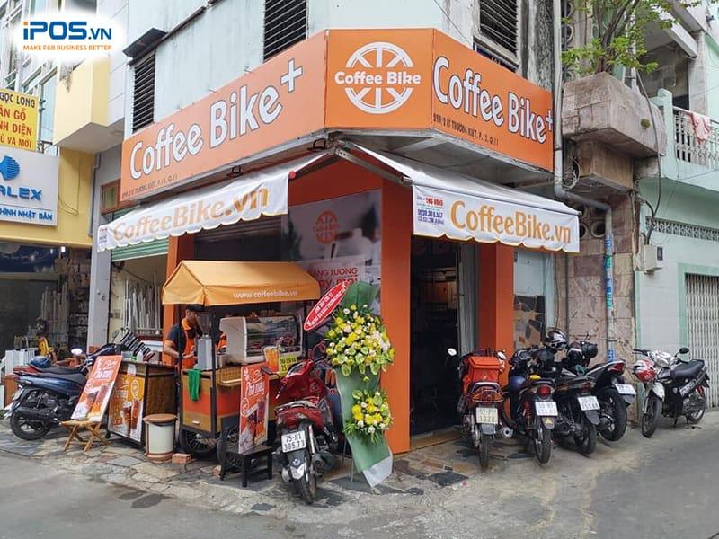 chi phí nhượng quyền coffee bike