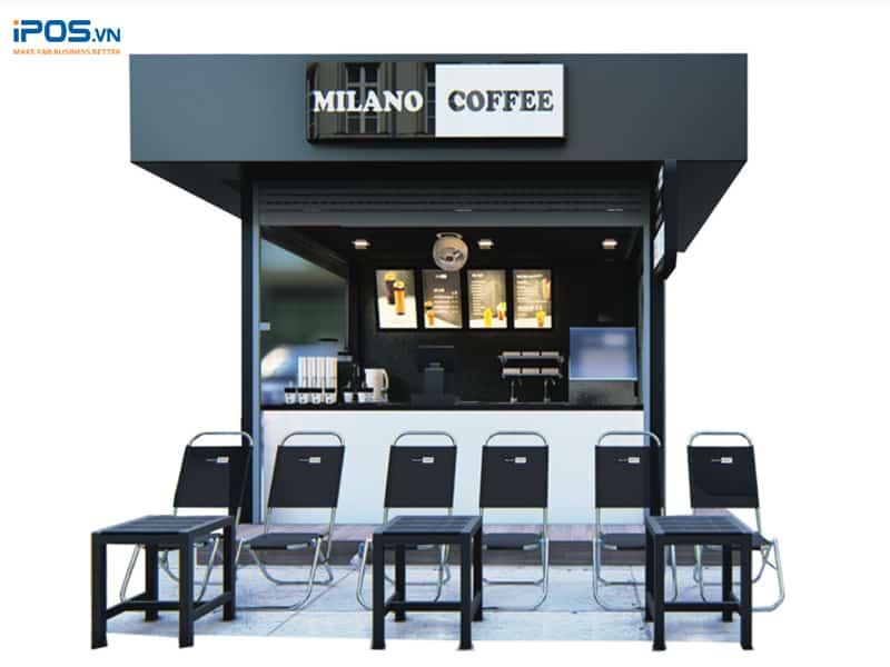 chi phí nhượng quyền milano coffee