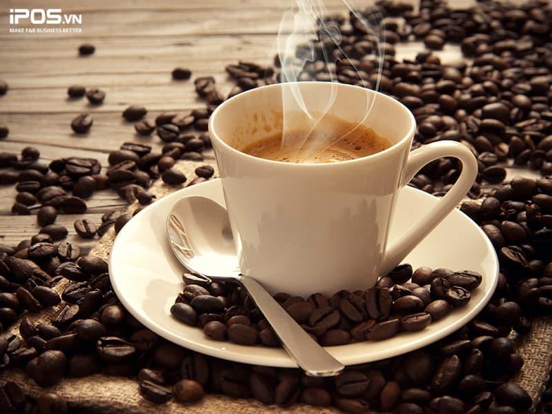 chi phí nguyên vật liệu quán cafe take away