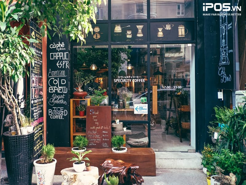 quán cafe take away