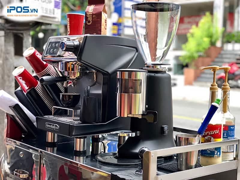 chi phí thiết bị xe cafe take away
