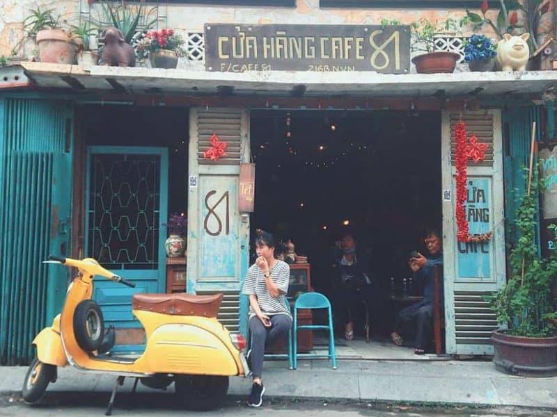 Mô hình cà phê rang xay quán cóc