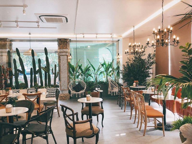 Lựa chọn phong cách quán cafe