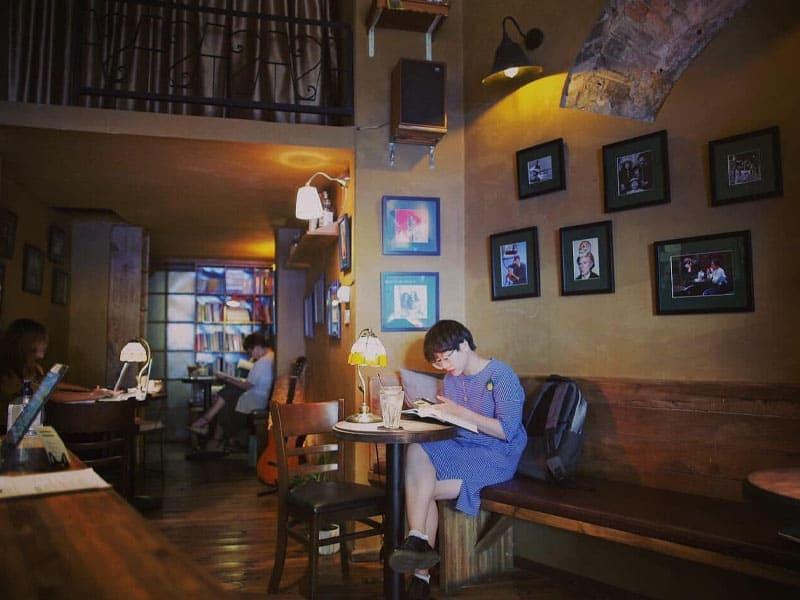 mẫu thiết kế quán café đẹp
