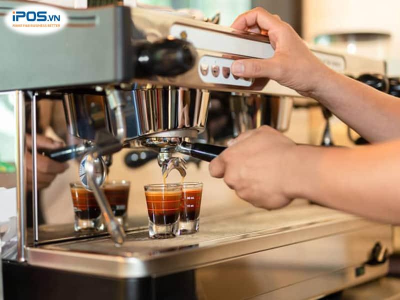 chi phí trang thiết bị quán cafe take away