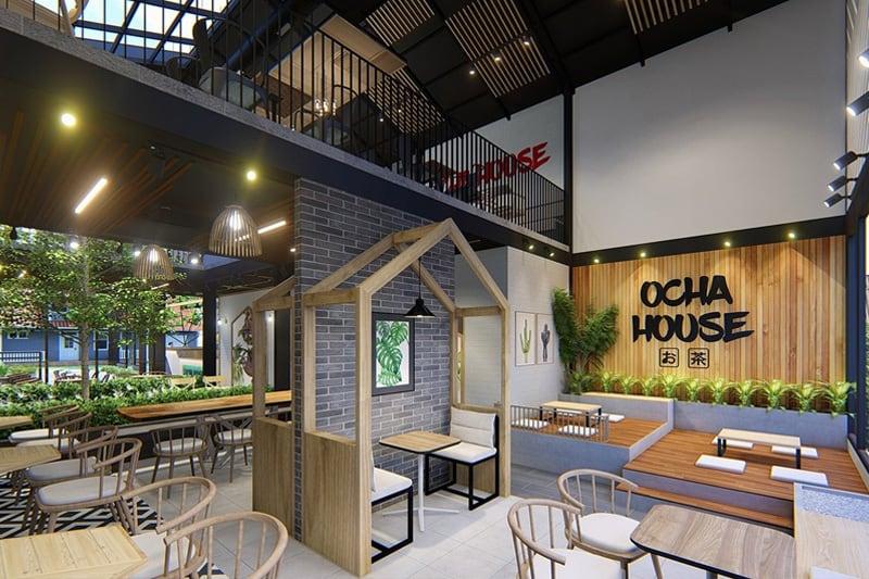 Ý tưởng thiết kế quán trà sữa nhỏ - bình dân