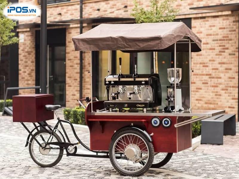 chi phí xe cafe take away