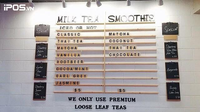 7 mẫu thiết kế menu quán trà sữa độc đáo 14