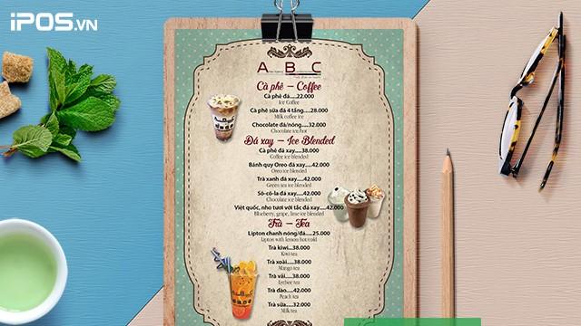 7 mẫu thiết kế menu quán trà sữa độc đáo 7