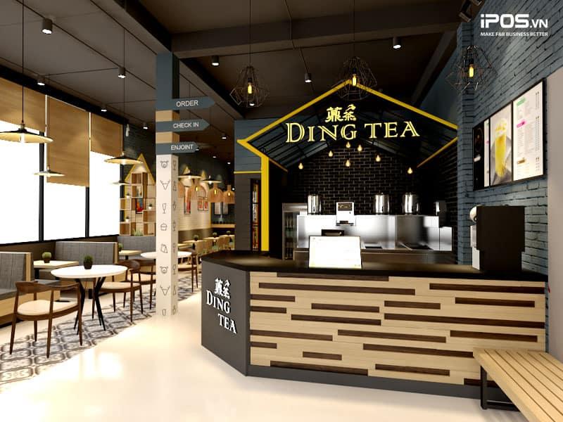 Dingtea cũng là thương hiệu quen thuộc với nhiều khách hàng