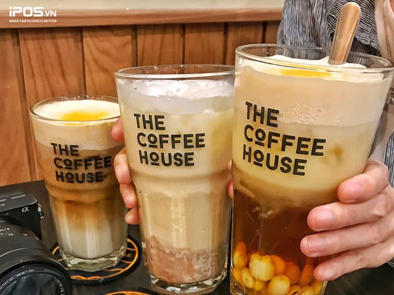 Mô hình trà sữa kết hợp cà phê khá phổ biến