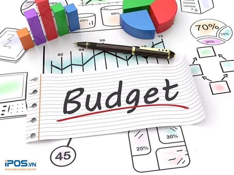 ngân sách marketing quán trà sữa