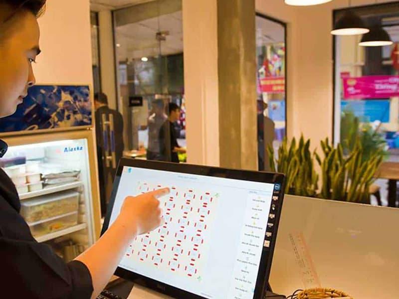 Đơn mua hàng đã được phần mềm tính toán sẵn