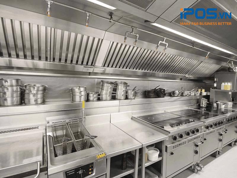 thiết bị bếp cần thiết để mở nhà hàng