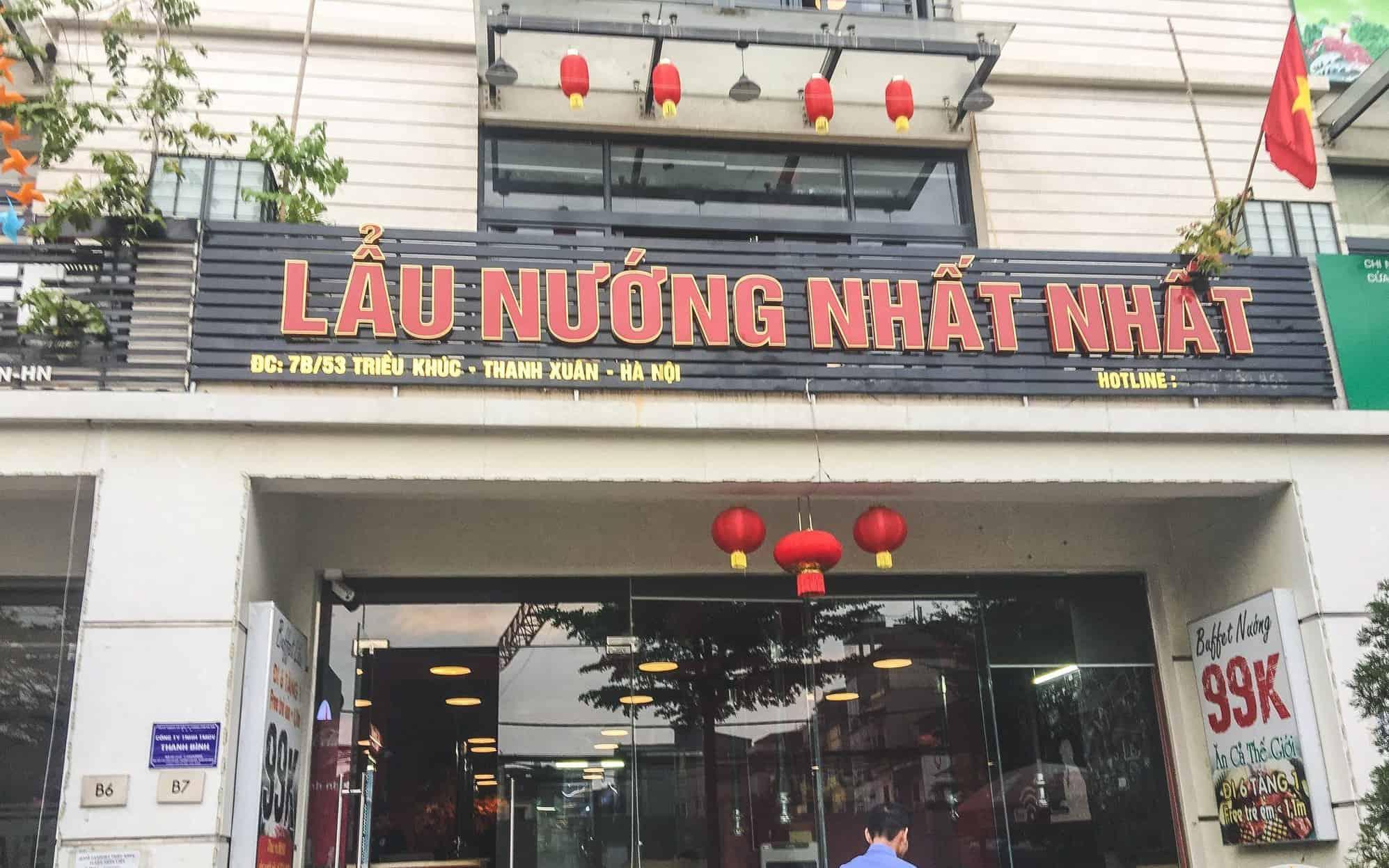 đặt tên nhà hàng theo tính từ tốt