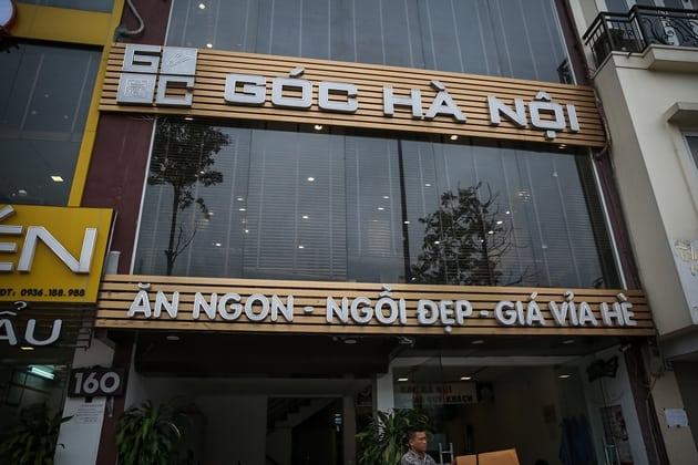 đặt tên nhà hàng theo quy mô