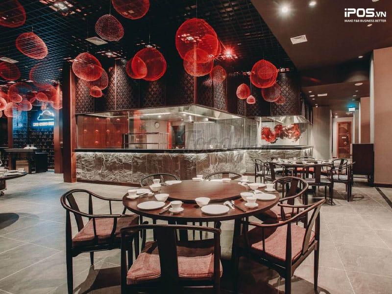 Thiết kế nhà hàng theo phong cách lãng mạn